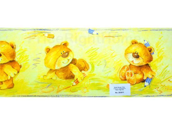Babyzimmer Tapeten Rasch : Bord?re Tapeten Borte Teddyb?ren Wanddeko Babyzimmer selbstklebend