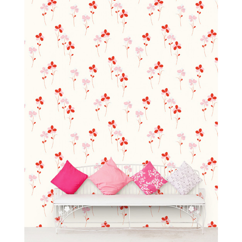 tapete selbstklebend dekofolie bl mchen blumen. Black Bedroom Furniture Sets. Home Design Ideas