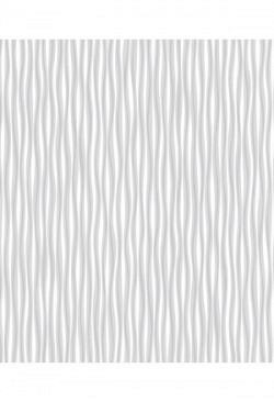 Tapete selbstklebend Wellen Seideneffekt weiß