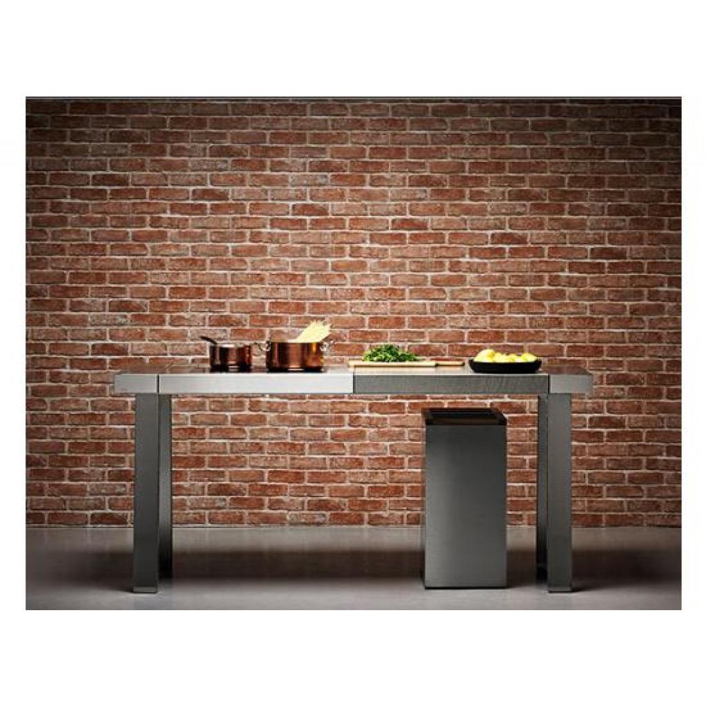 tapete selbstklebend dekofolie mauerstein ziegelstein tapeten deko 50 x 100cm ebay. Black Bedroom Furniture Sets. Home Design Ideas