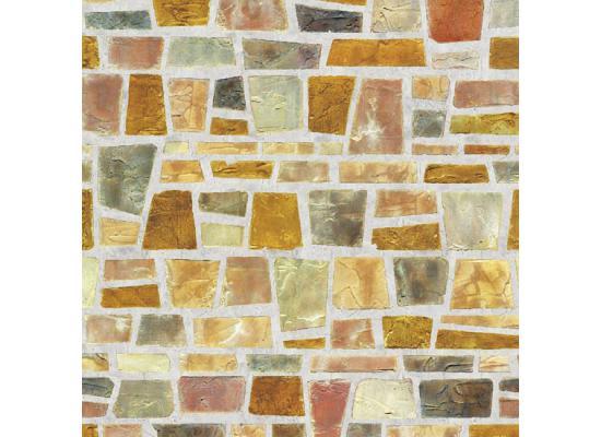 Selbstklebende Tapete Mosaik : Details zu Tapete selbstklebend Dekofolie Feldstein Mosaik 50x100cm