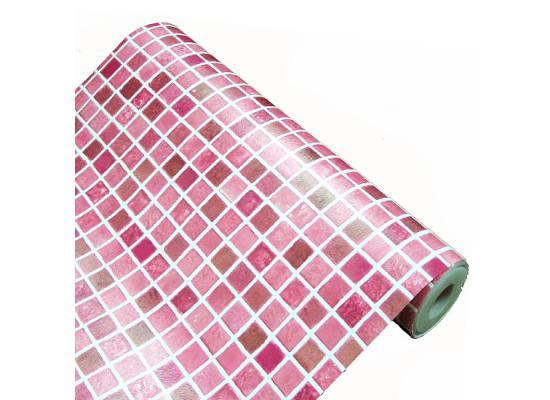 Selbstklebende Tapete Bad : Selbstklebende Fliesen Bad : Tapete selbstklebend Mosaik Fliesen rot
