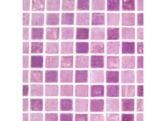 tapete selbstklebend dekofolie mosaik fliesen lila bad. Black Bedroom Furniture Sets. Home Design Ideas