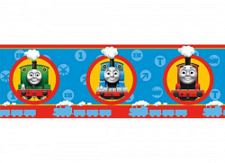 Kinder Bord�re Lokomotive Thomas blau