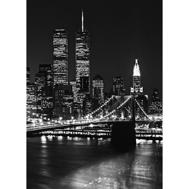 Fototapete Wandbild Brooklyn Bridge