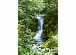 Fototapete Wandbild Wasserfall Quelle