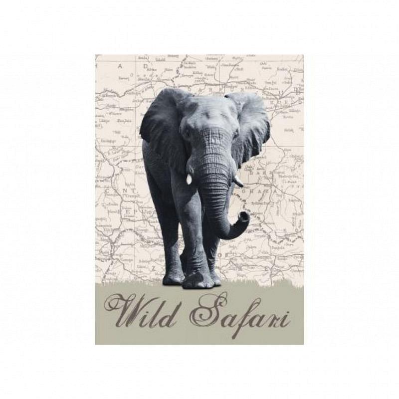 Wandbild Elefant Afrika Safari
