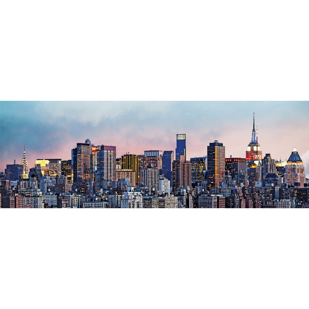 fototapete wandbild new york skyline fototapete 4 teile. Black Bedroom Furniture Sets. Home Design Ideas