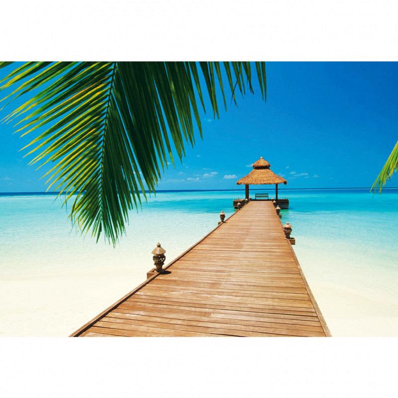 Wandbild Strandparadies Paradise Beach