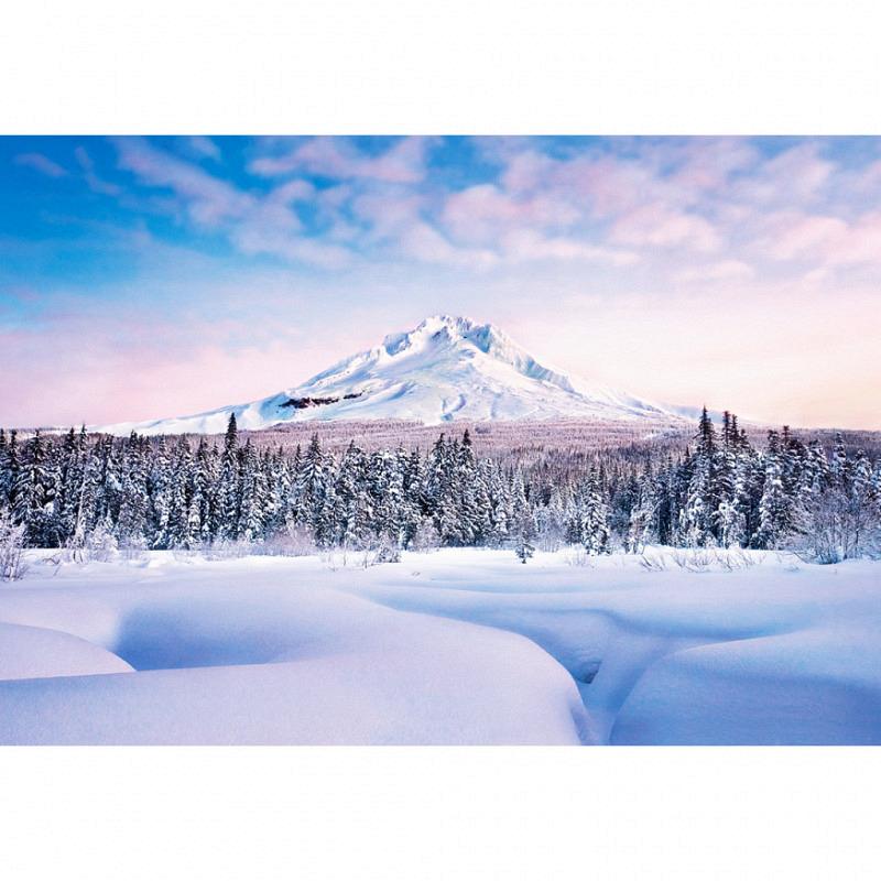 Fototapete Wandbild Winter in den Bergen