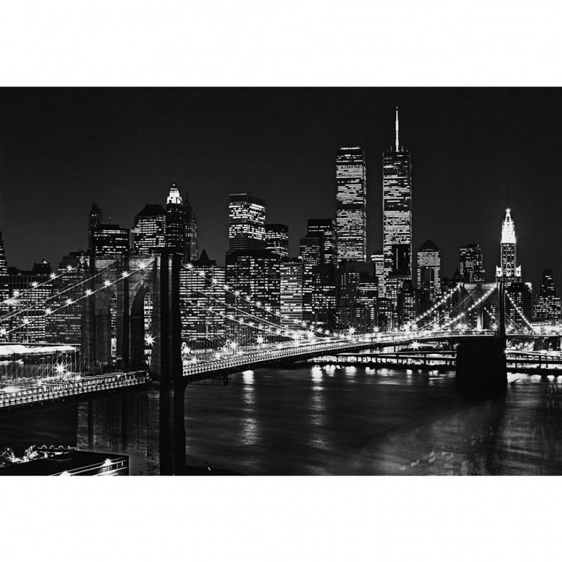 Fototapete Wandbild XL Brooklyn Bridge