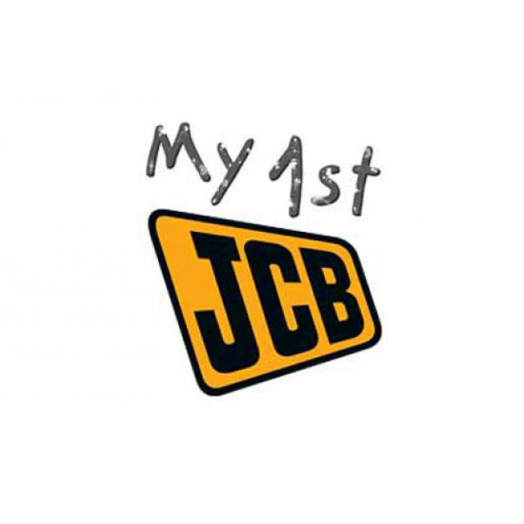 Fototapete Kinderzimmer Wandbild Walltastic Baustelle My 1st JCB Logo