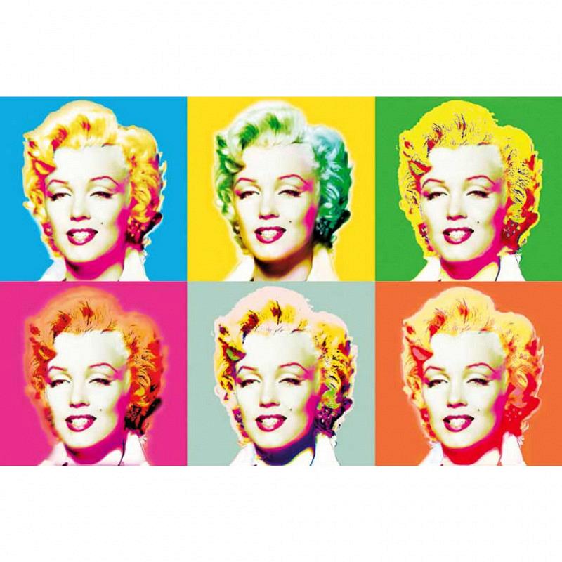 Wandbild Poster Marilyn Visionen