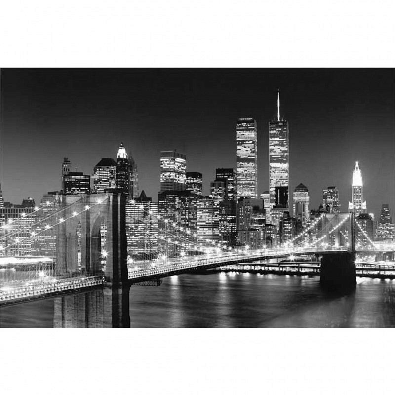 Wandbild Poster Brooklyn Bridge