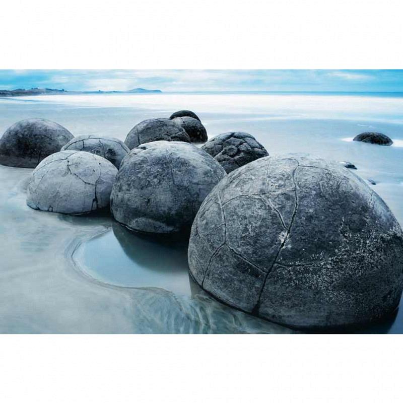 Wandbild Poster Steine Felsen am Meer