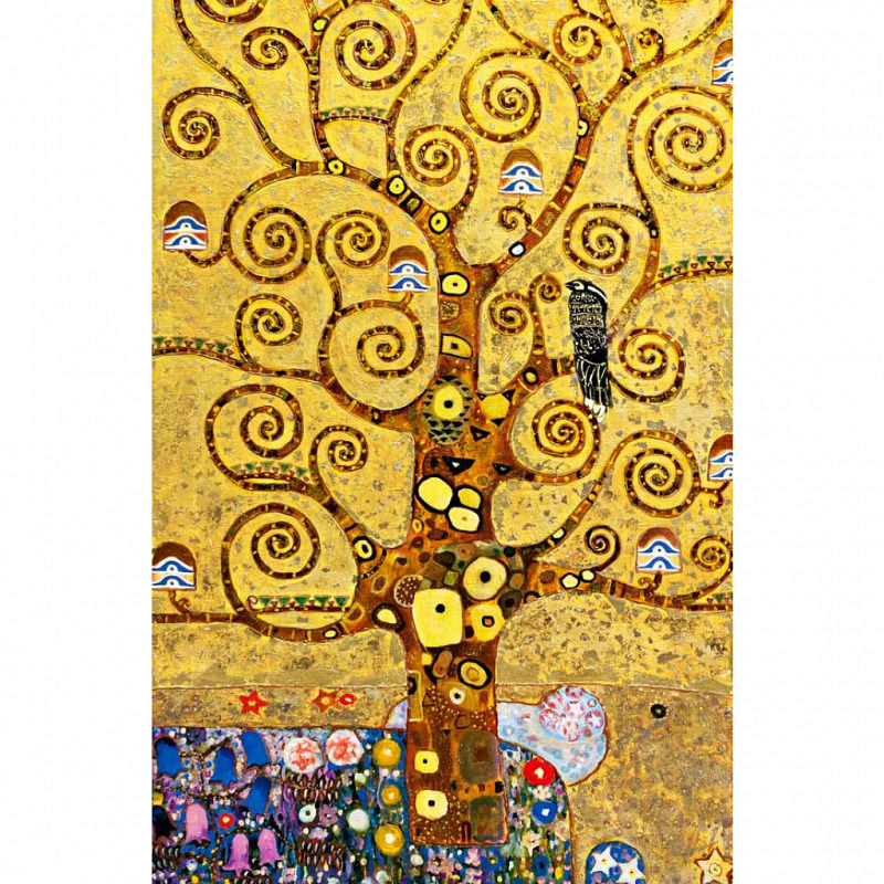 Wandbild Poster Goldener Baum des Lebens