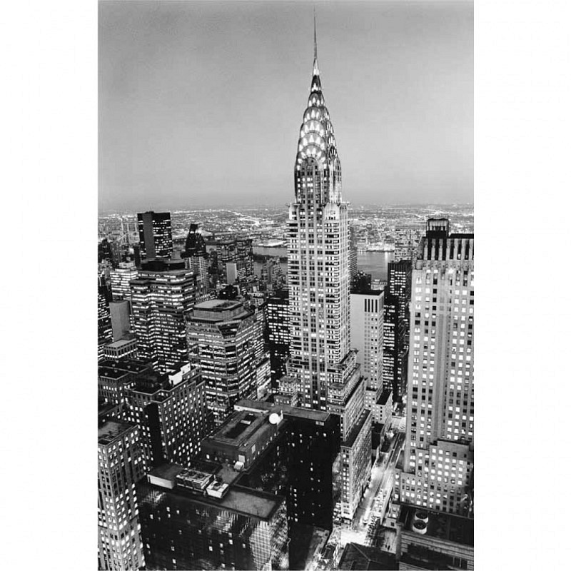 Wandbild Poster Chrysler Building