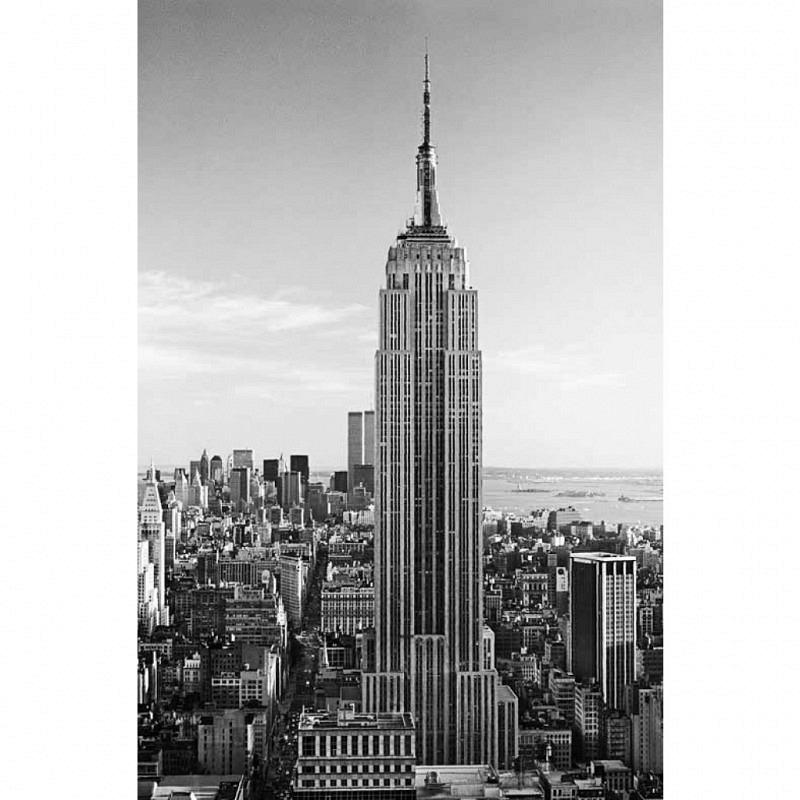 Wandbild Poster Empire State Building