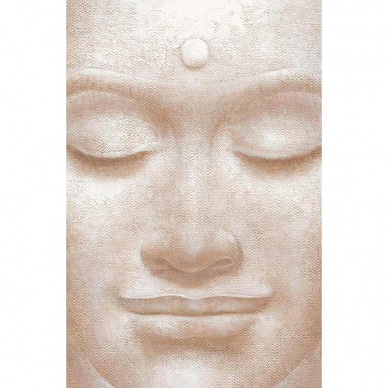 Wandbild Poster Lächelnder Buddha