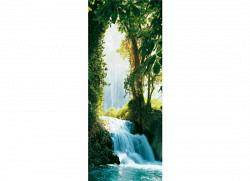 Türtapete Türposter Wasserfall Zaragoza Falls