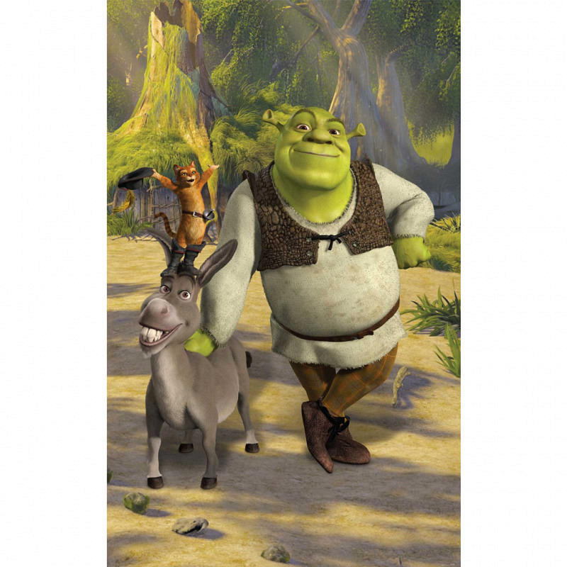 Fototapete Shrek Poster