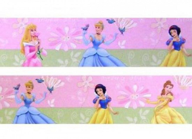 Kinderzimmer Bordüre Disney Princess Dreamy