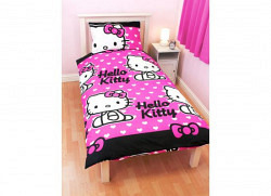 Bettw�sche Hello Kitty Herzen Design