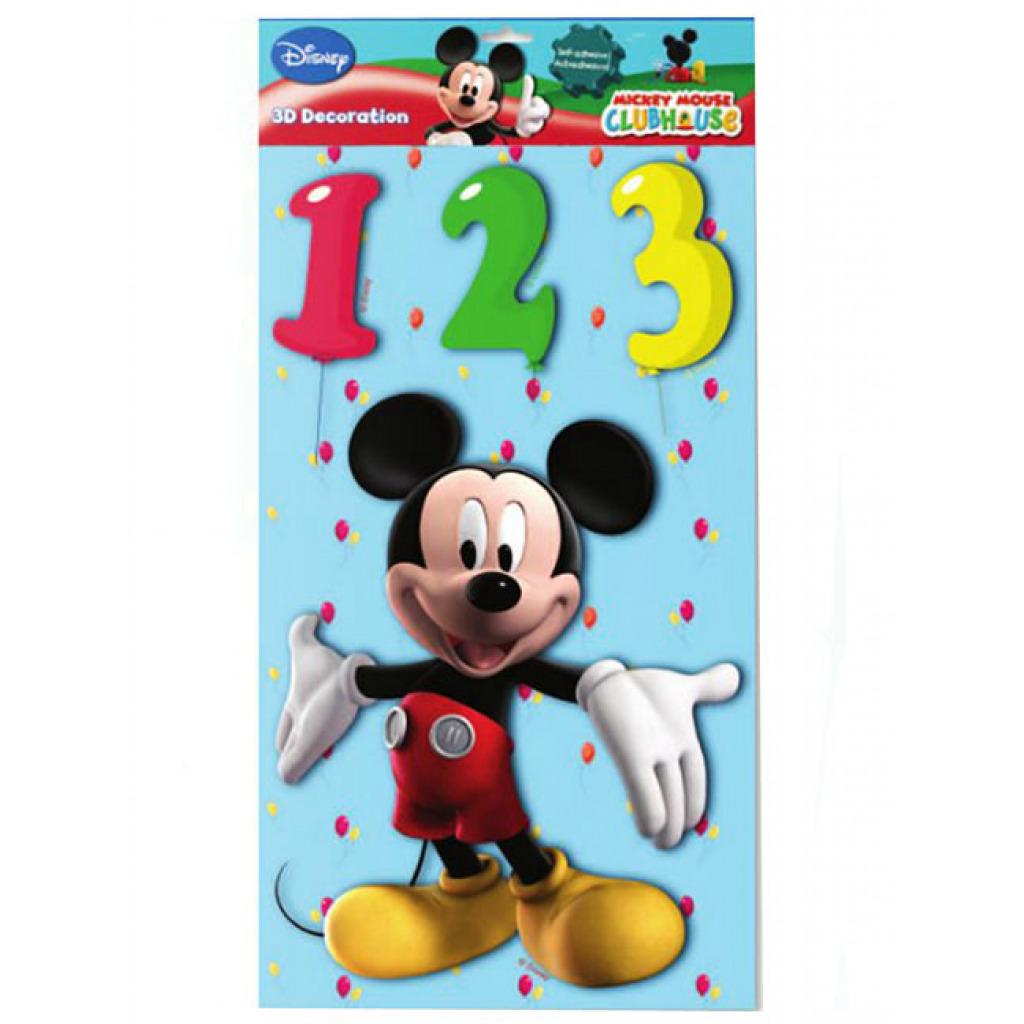 Wandsticker xl 3d disney mickey mouse kinderzimmer wanddeko 8435004652504 ebay - Wandsticker mickey mouse ...