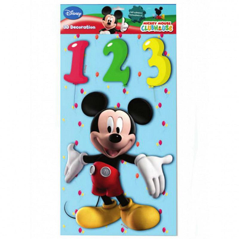 Wandsticker XL 3D Disney Mickey Mouse