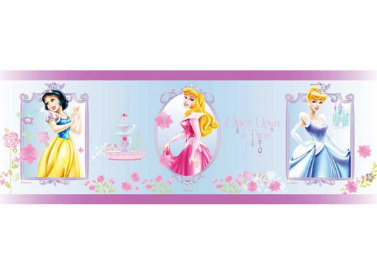 Kinderzimmer Tapeten Bord?ren : Interiors Bord?re Tapeten Borte Disney Princess Rose