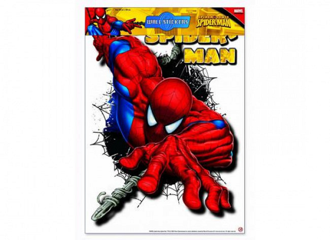 Wandsticker Wandtattoo Spiderman Kinderzimmer