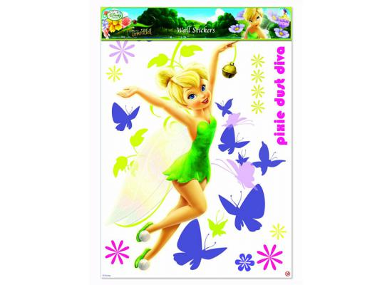 wandsticker xxl disney fairies tinkerbell kinderzimmer. Black Bedroom Furniture Sets. Home Design Ideas