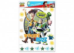 Wandsticker Wandtattoo Toy Story Buzz Woody