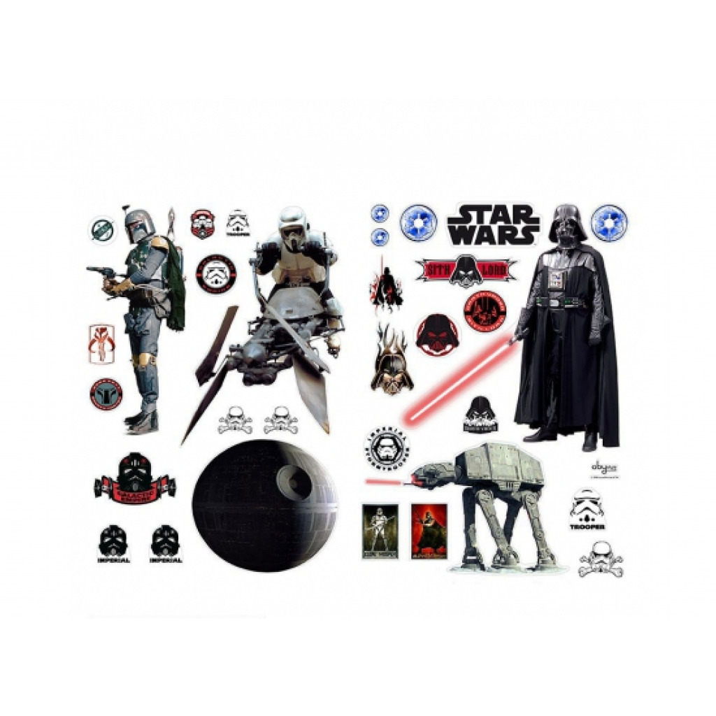 Wandsticker Wandtattoo Star Wars Das Imperium schlägt zurück