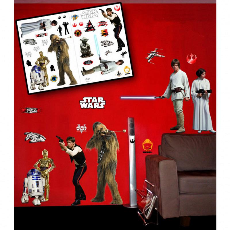 Wandsticker Star Wars Rebellion