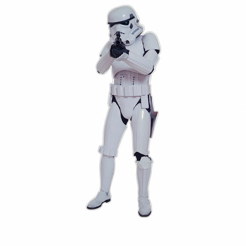 wandsticker wandtattoo star wars stormtrooper klonkrieger. Black Bedroom Furniture Sets. Home Design Ideas