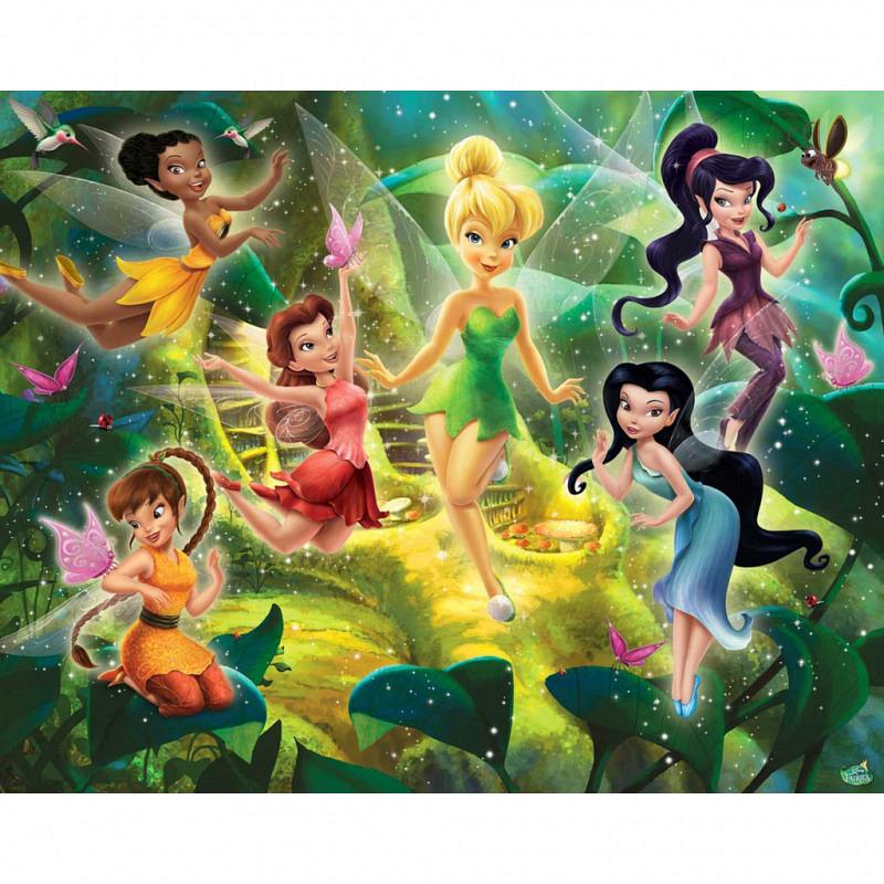 Fototapete Kinderzimmer Disney Fairies Tinkerbell