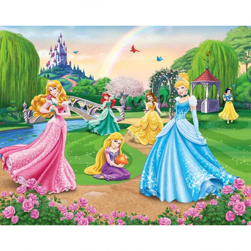Fototapete Kinderzimmer Disney Princess Wandbild