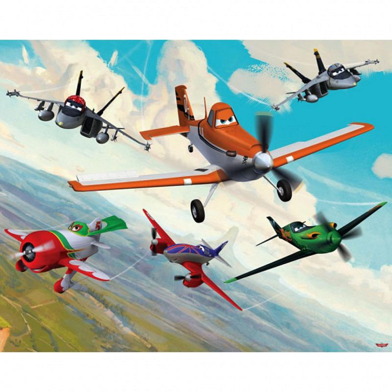 Fototapete Kinderzimmer Disney Planes Flugzeuge