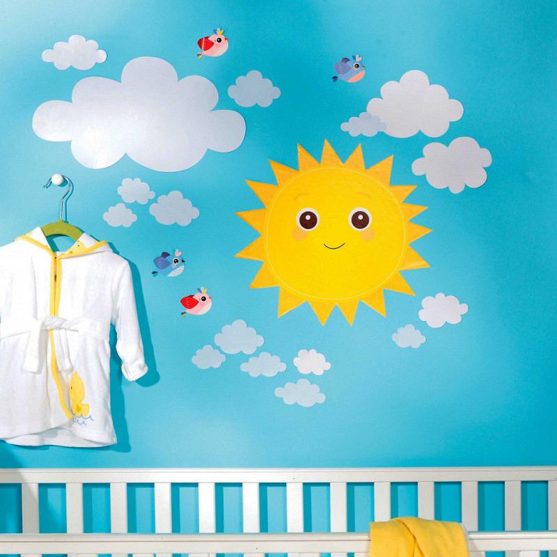 Wandsticker Baby Sonnenschein