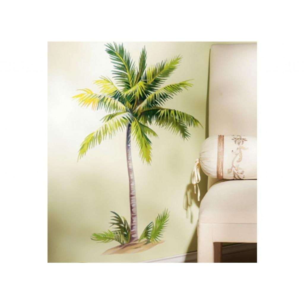 Wandsticker wandbild palme selbstklebend wohnzimmer - Palme wohnzimmer ...