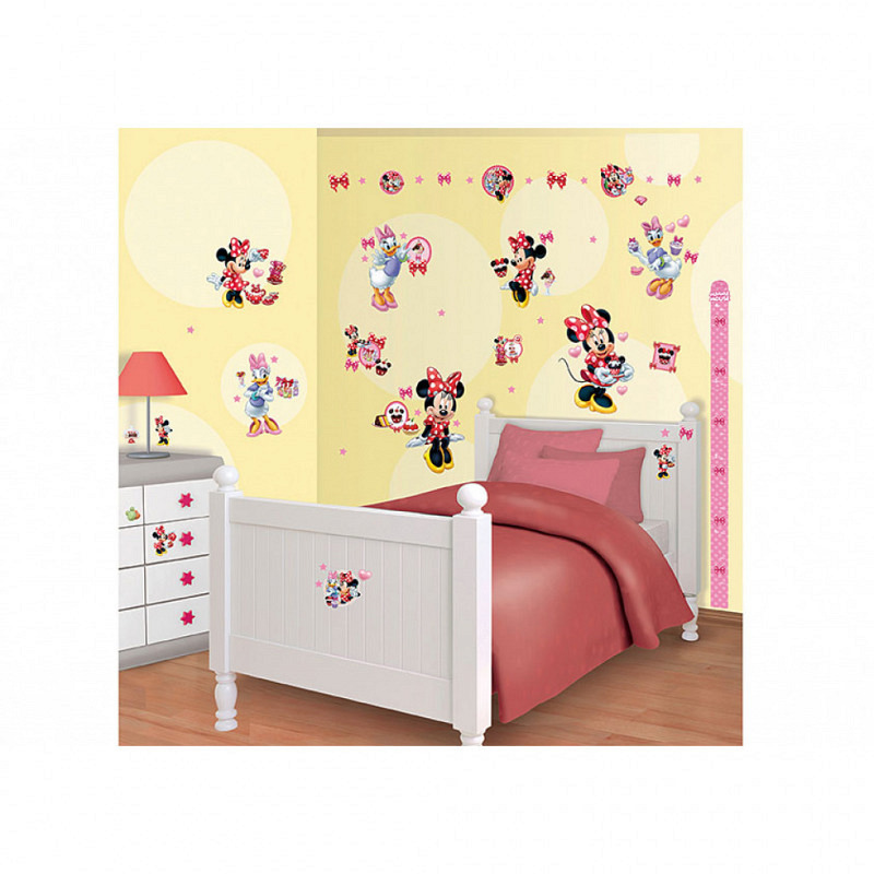 Wandsticker Disney Minnie Mouse Daisy Duck