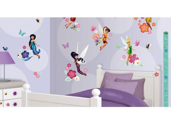 77 wandsticker kinderzimmer disney fairies tinkerbell