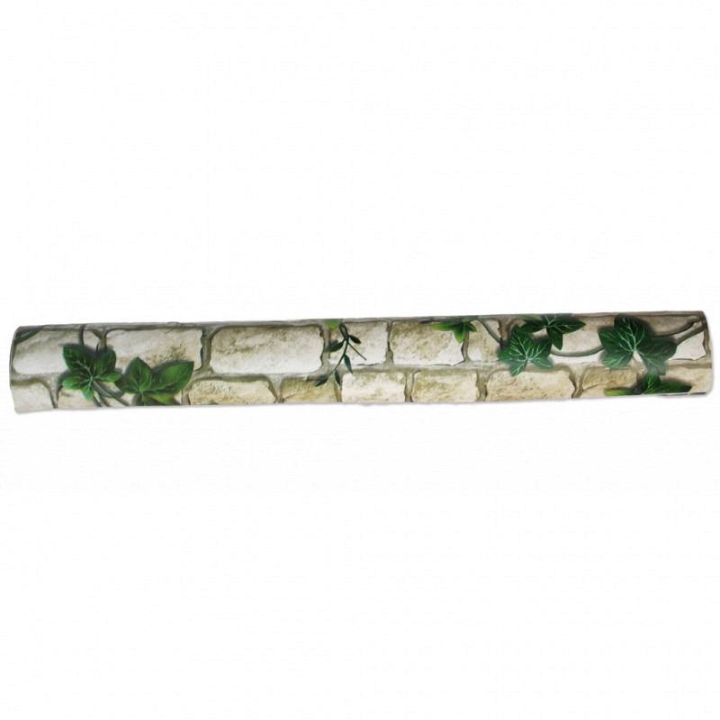 Tapete selbstklebend Efeuranken Steinmauer