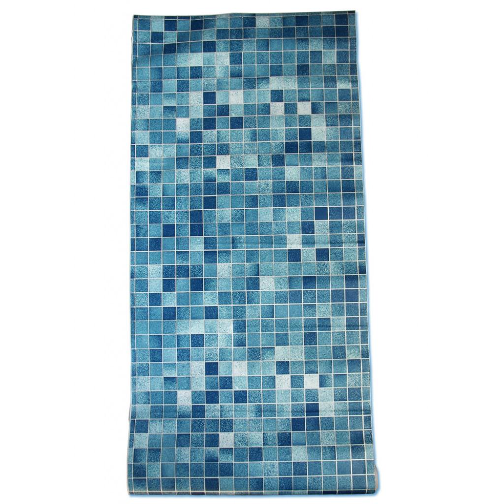 tapete selbstklebend mosaik fliesen blau fliesenspiegel k che bad abwischbar 6921843945102 ebay. Black Bedroom Furniture Sets. Home Design Ideas