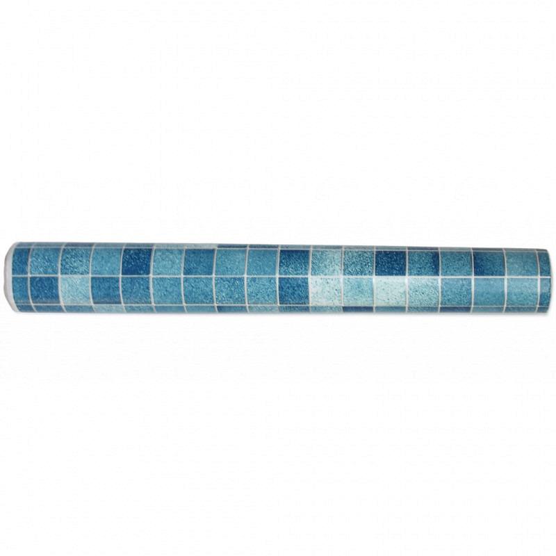 Tapete selbstklebend Mosaik Fliesen blau