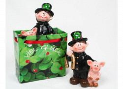 Geschenktüte Schornsteinfeger mit Schweinchen Set