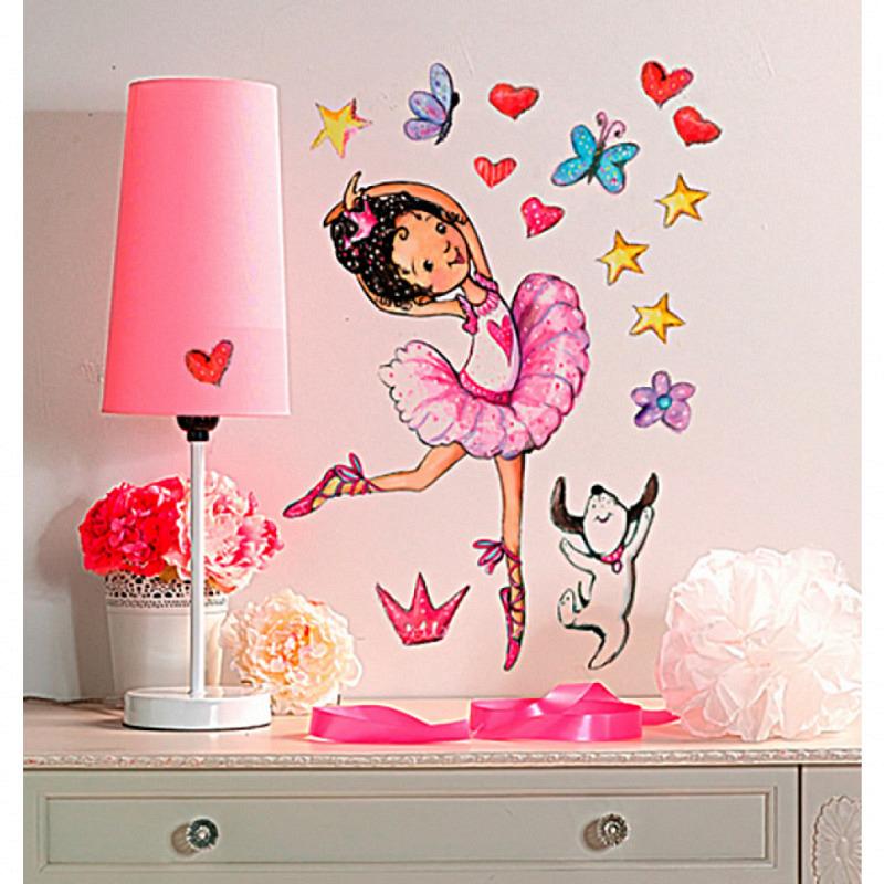 Wandsticker kleine Ballerina Wallies