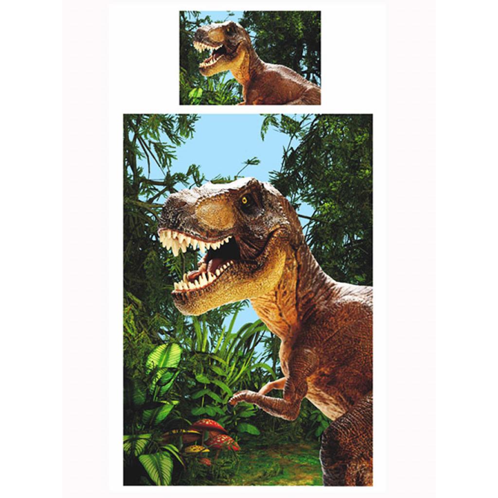 bettw sche jurassic dinosaurier t rex bettgarnitur kinder. Black Bedroom Furniture Sets. Home Design Ideas