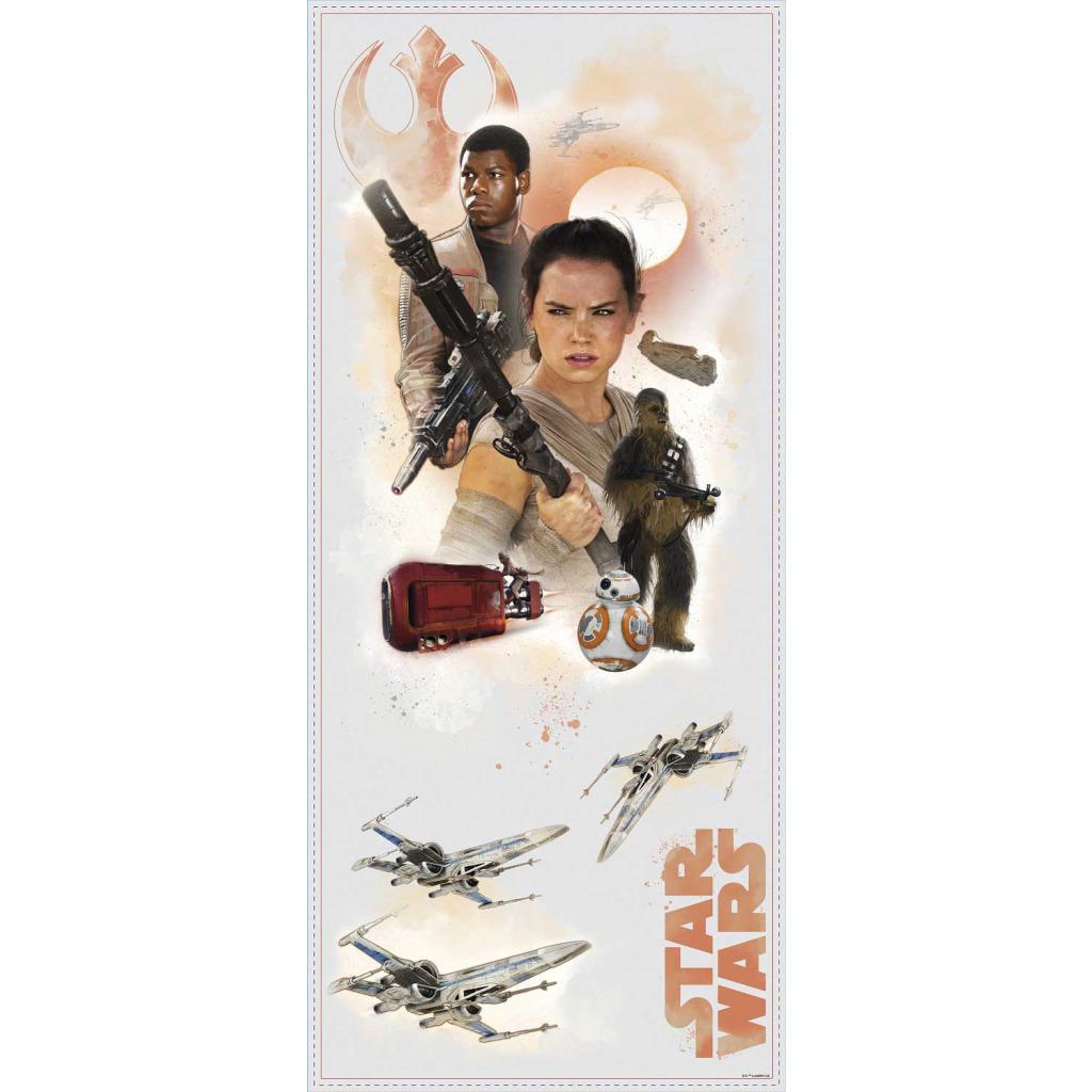 RoomMates Wandsticker Star Wars Das Erwachen der Macht Helden Jugendzimmer